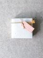 Afbeeldingen van Doosje vierkant gevlekt