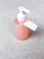 Afbeeldingen van Zeeppompje transparant/wit
