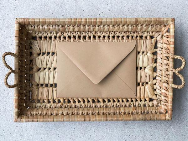 Afbeeldingen van Envelop okerbruin