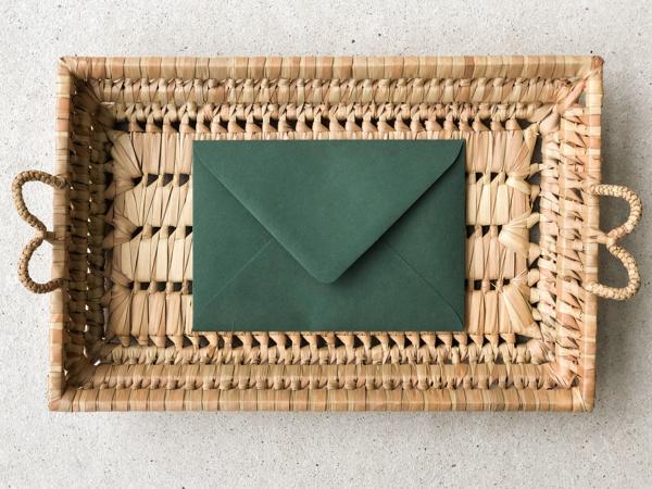 Afbeeldingen van Envelop donkergroen