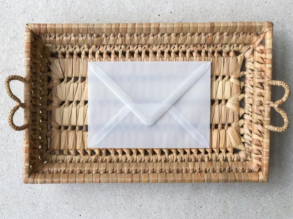 Afbeeldingen van Envelop transparant