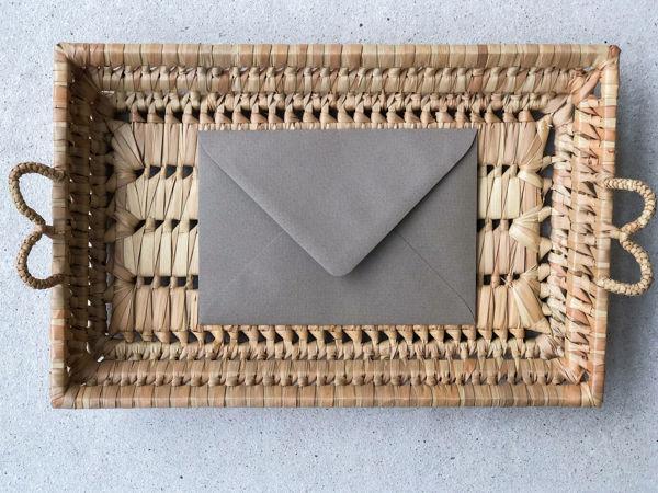 Afbeeldingen van Envelop vintage kraft