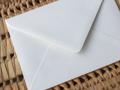 Afbeeldingen van Envelop structuur wit
