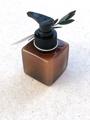 Afbeeldingen van Zeeppompje kubus amber