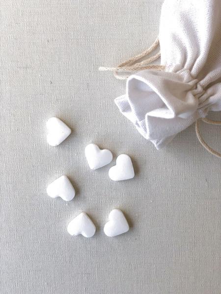 Afbeeldingen van Hartjes wit