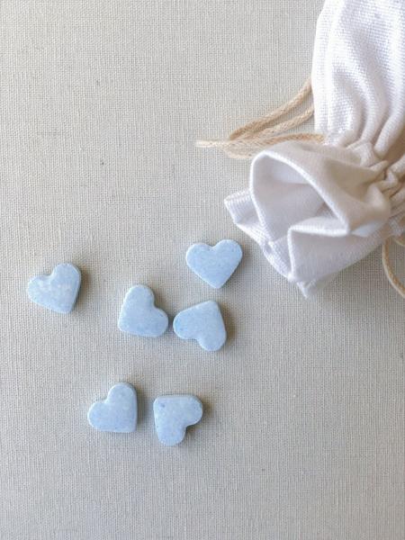 Afbeeldingen van Hartjes blauw