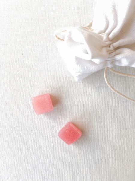 Afbeeldingen van Snoepblokjes roos