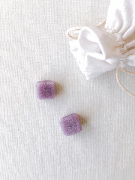 Afbeeldingen van Snoepblokjes violet