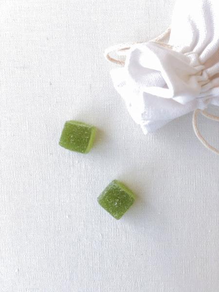 Afbeeldingen van Snoepblokjes groen