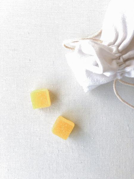 Afbeeldingen van Snoepblokjes geel