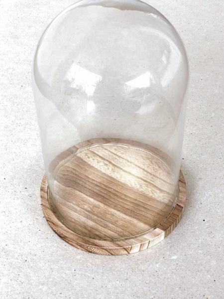Afbeeldingen van Stolp op houten plateau medium