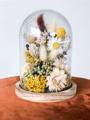 Afbeeldingen van Stolp gevuld met droogbloemen S