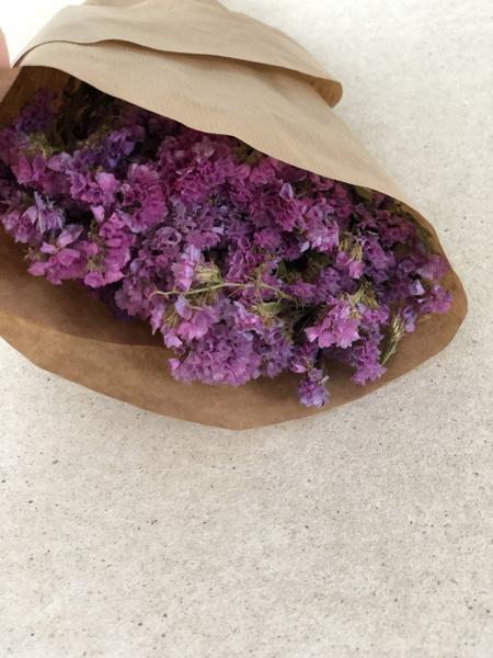 Afbeeldingen van Statice sinuata violet naturel