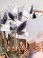 Afbeeldingen van Jeneverflesje zilveren dop