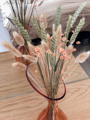 Afbeeldingen van Vaas Louisa met droogbloemen