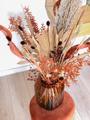 """Afbeeldingen van Vaas """"Cosette"""" met droogbloemen"""