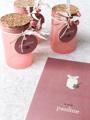 Afbeeldingen van Voorraadpotje magnolia met kurken dop